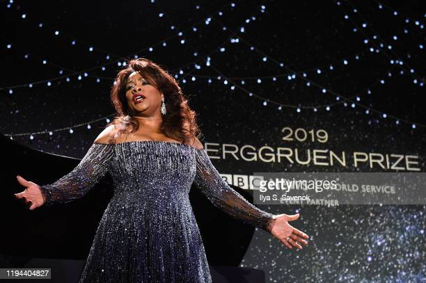 Denyce Graves performs onstage at the Fourth Annual Berggruen Prize Gala celebrating 2019 Laureate Supreme Court Justice Ruth Bader Ginsburg In New...