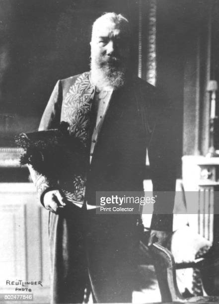Denys Cochin' c1893 Baron Denys Marie Pierre Augustin Cochin French writer and Catholic rightwing politician From the 2e collection [Felix Potin...