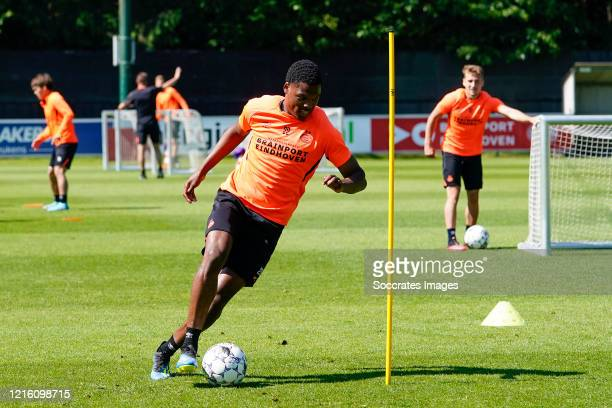Denzel Dumfries of PSV during the Training PSV at the PSV Campus De Herdgang on May 29 2020 in Eindhoven Netherlands