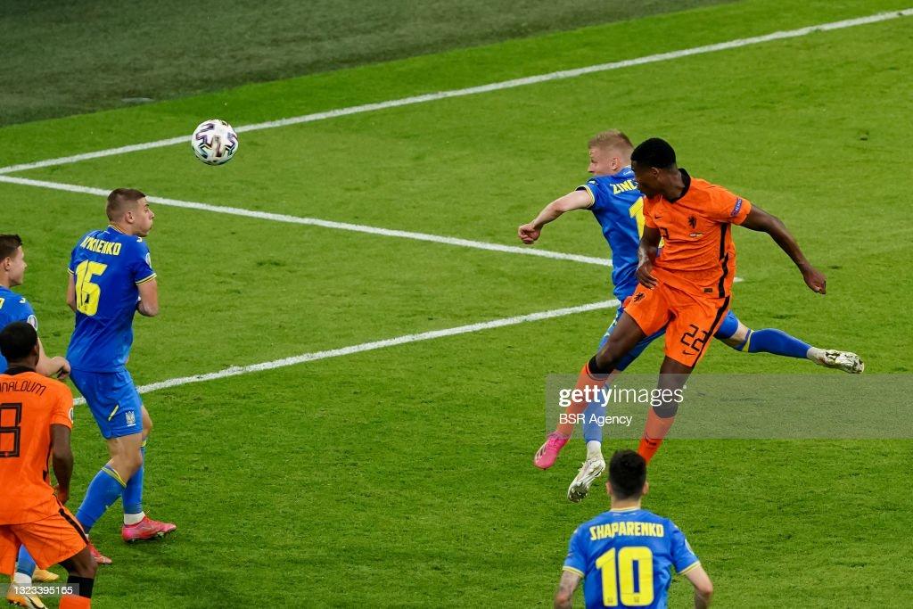 Netherlands v Ukraine - UEFA Euro 2020 Championship Group C : News Photo