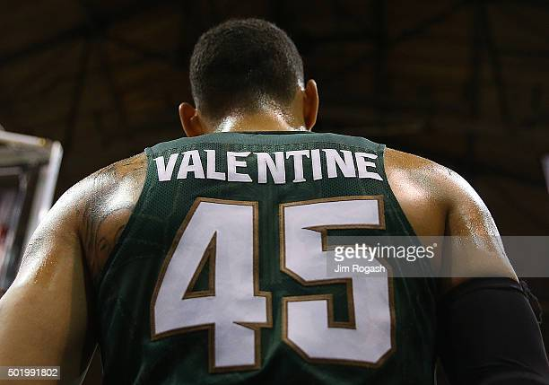 Denzel Valentine of the Michigan State Spartans waits for the ball during a game with the Northeastern Huskies in the first half on December 19 2015...