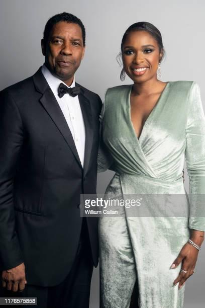 Denzel Washington and Jennifer Hudson pose for a portrait at the 47th AFI Life Achievement Awards honoring Denzel Washington on June 06, 2019 at...