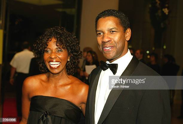 Denzel Washington and wife Pauletta at The 17th Annual American Cinematheque Award Honoring Denzel Washington at the Beverly Hilton Hotel in Beverly...