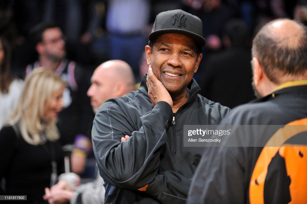 CA: Celebrities At The Los Angeles Lakers Game
