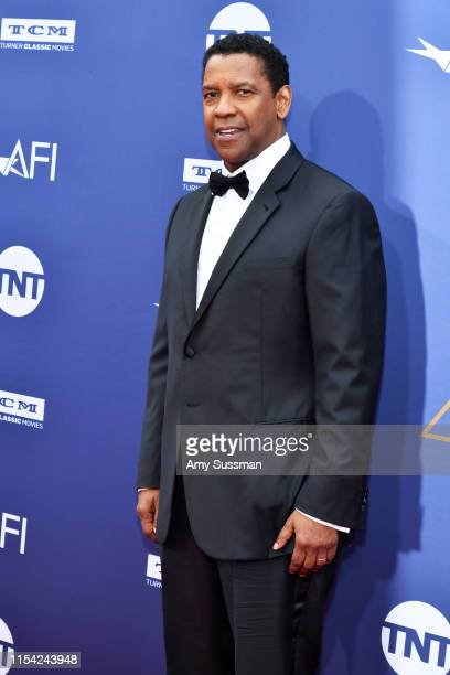 Denzel Washington attends the 47th AFI Life Achievement Award honoring Denzel Washington at Dolby Theatre on June 06 2019 in Hollywood California...