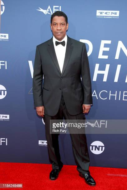 Denzel Washington attends the 47th AFI Life Achievement Award honoring Denzel Washington at Dolby Theatre on June 06, 2019 in Hollywood, California.