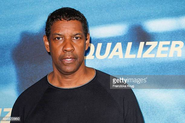 Denzel Washington attends the 'The Equalizer' Photocall at the Adlon on September 16 2014 in Berlin Germany