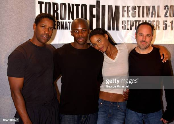 Denzel Washington Derek Luke Joy Bryant and Todd Black Prod