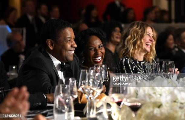 Denzel Washington, Pauletta Washington, and Julia Roberts attend the 47th AFI Life Achievement Award honoring Denzel Washington at Dolby Theatre on...