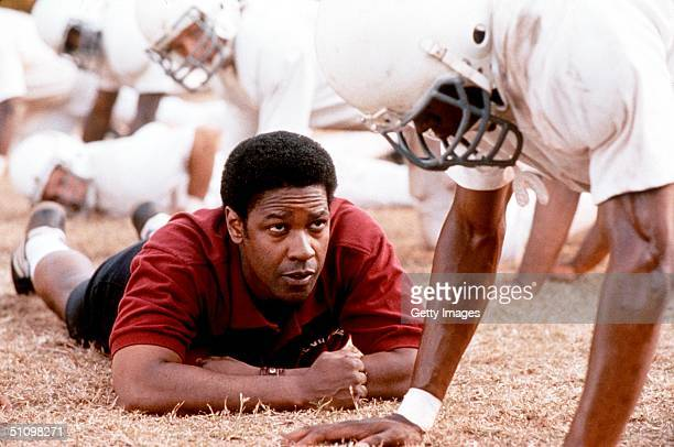 "Denzel Washington Stars In ""Remember The Titans."""