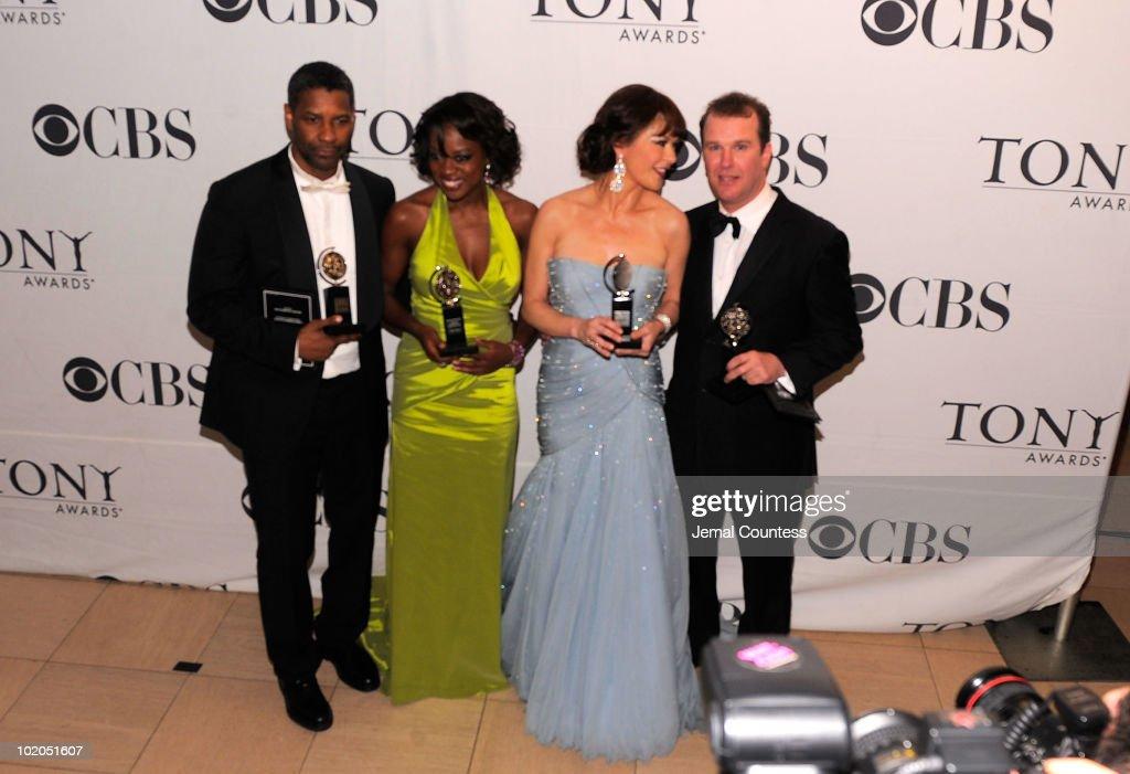 64th Annual Tony Awards - Media Room : News Photo