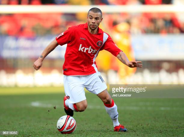 Deon Burton of Charlton Athletic during the Coca Cola League One match between Charlton Athletic and Tranmere Rovers at The Valley on January 30 2010...