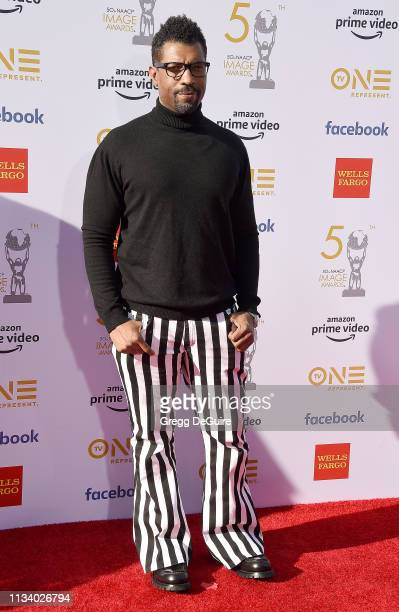 Deon Cole arrives at the 50th NAACP Image Awards at Dolby Theatre on March 30 2019 in Hollywood California