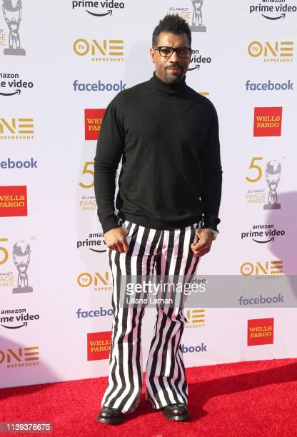 Deon Cole attends the 50th NAACP Image Awards at Dolby Theatre on March 30 2019 in Hollywood California