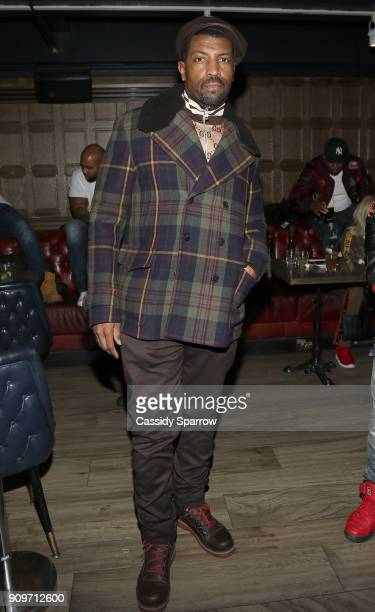 Deon Cole Attends The Eric Bellinger Grammy Week Lounge Lounge at Suite 36 on January 23 2018 in New York City