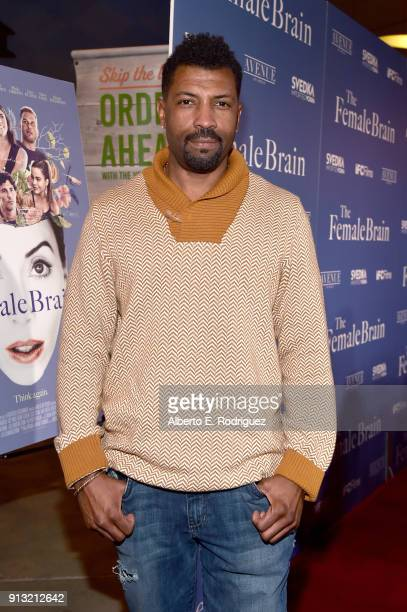 Deon Cole attends the premiere of IFC Films' 'The Female Brain' at ArcLight Hollywood on February 1 2018 in Hollywood California