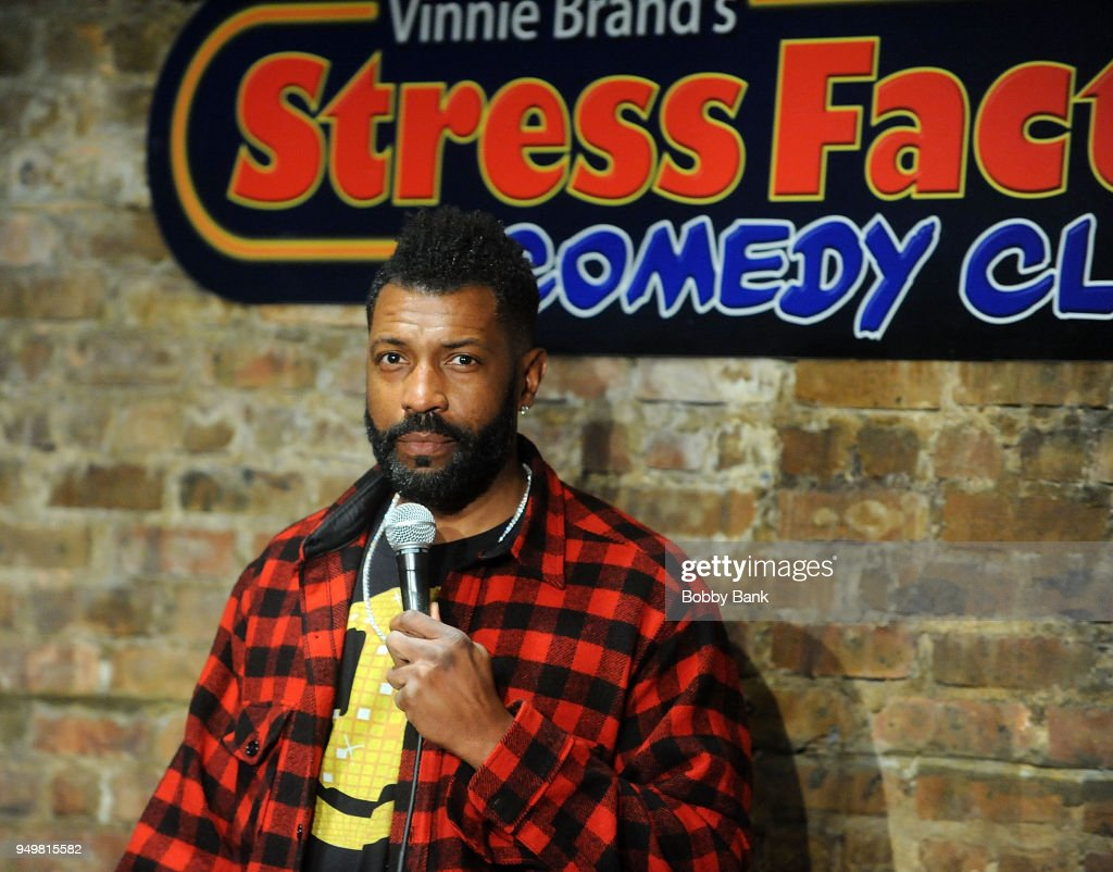 Deon Cole Performs At The Stress Factory Comedy Club