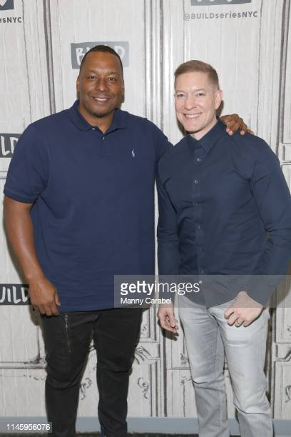Deon Taylor and Joseph Sikora attend Build Series to discuss their new film The Intruder at Build Studio on April 29 2019 in New York City
