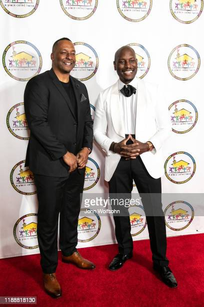 Deon Taylor and Tyrese Gibson attend the 19th Annual Gala for the Children at The Beverly Hilton Hotel on November 19 2019 in Beverly Hills California