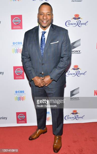 Deon Taylor arrives at The African American Film Critics Association's 11th Annual AAFCA Awards at Taglyan Cultural Complex on January 22 2020 in...