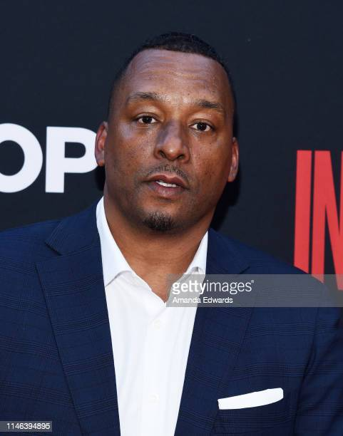 Deon Taylor arrives at the Screen Gems premiere of The Intruder at ArcLight Hollywood on May 01 2019 in Hollywood California