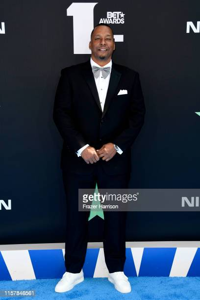 Deon Taylor attends the 2019 BET Awards at Microsoft Theater on June 23 2019 in Los Angeles California