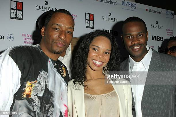 Deon Taylor cowriter/codirector 7eventy 5ive Cherie Johnson producer 7eventy 5ive and Brian Hooks cowriter/codirector 7eventy 5ive