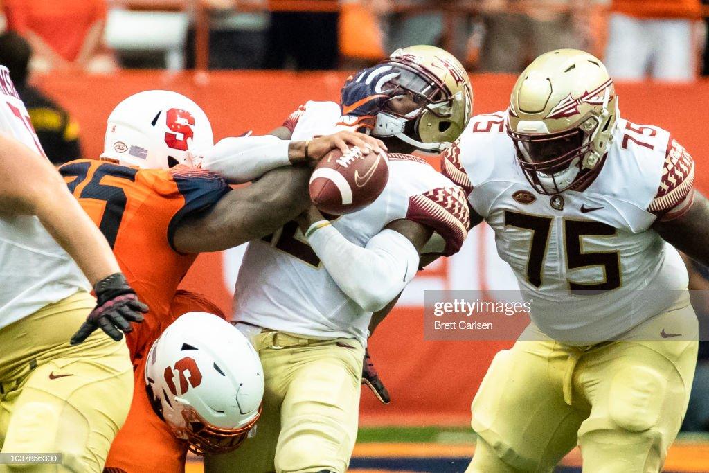 Florida State v Syracuse : News Photo