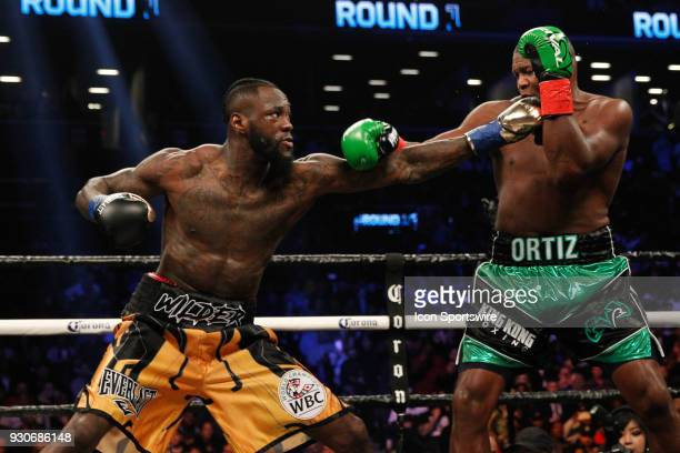 Deontay Wilder defeated Luis Ortiz ON MARCH 3 at the Barclays Center in Brooklyn NY