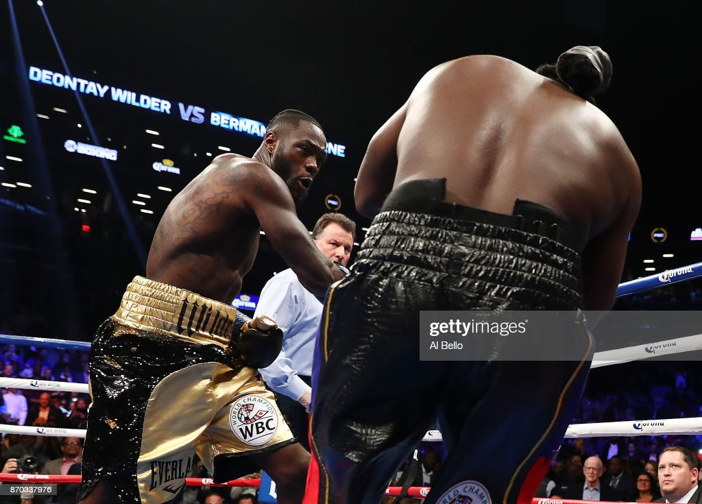 Deontay Wilder v Bermane Stiverne : News Photo
