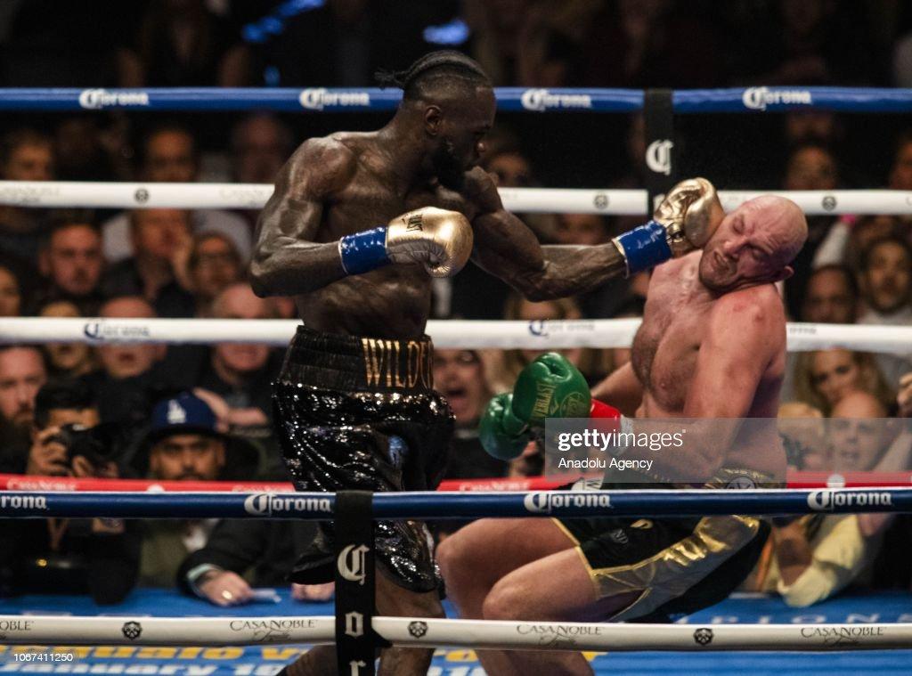 WBC Heavyweight Championship in California : News Photo
