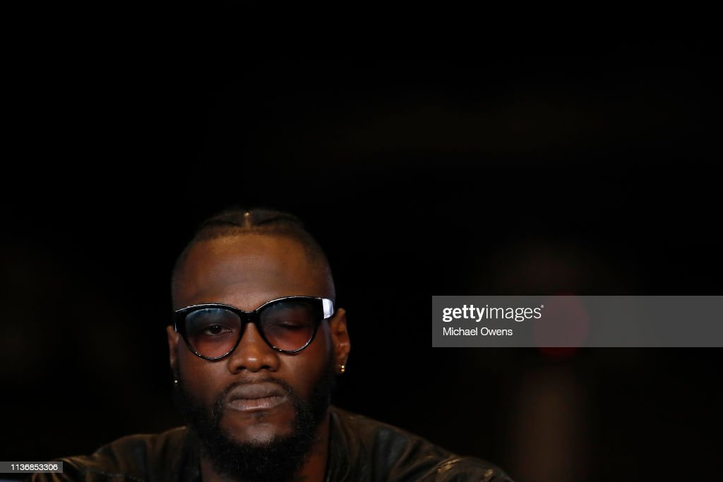 NY: Deontay Wilder Press Conference