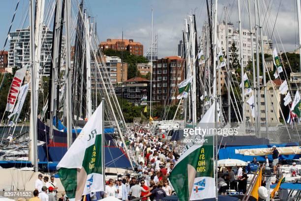 Depart Rolex Sydney Hobart Yacht Race 2007 Australie