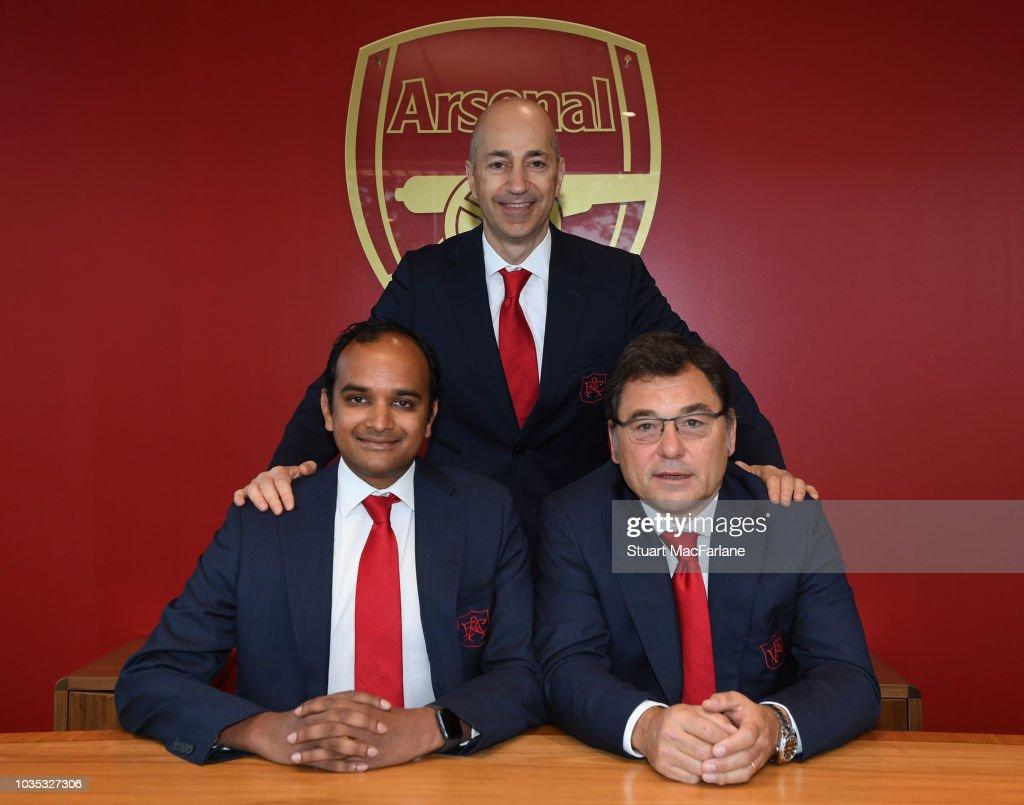 Arsenal Announce Departure of CEO Ivan Gazidis