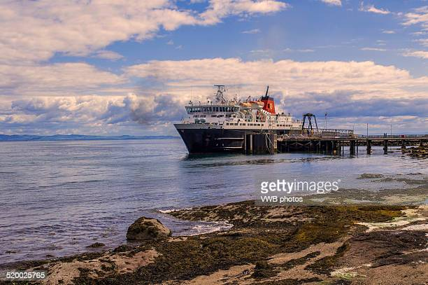 Departing ferry, Brodick, Isle of Arran
