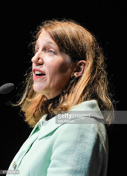 S Department of Health and Human Services Secretary Sylvia Mathews Burwell speaks during the 10th Anniversary Of National Children's Mental Health...