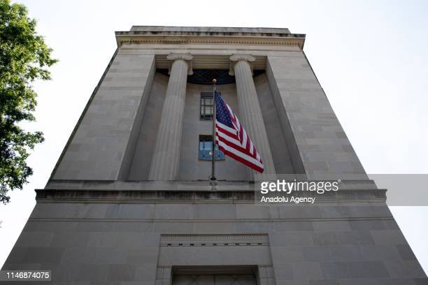 S Department of Justice building is seen in Washington United States on May 29 2019