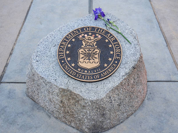 Department of The Air Force Seal at Idaho State Veterans Cemetery