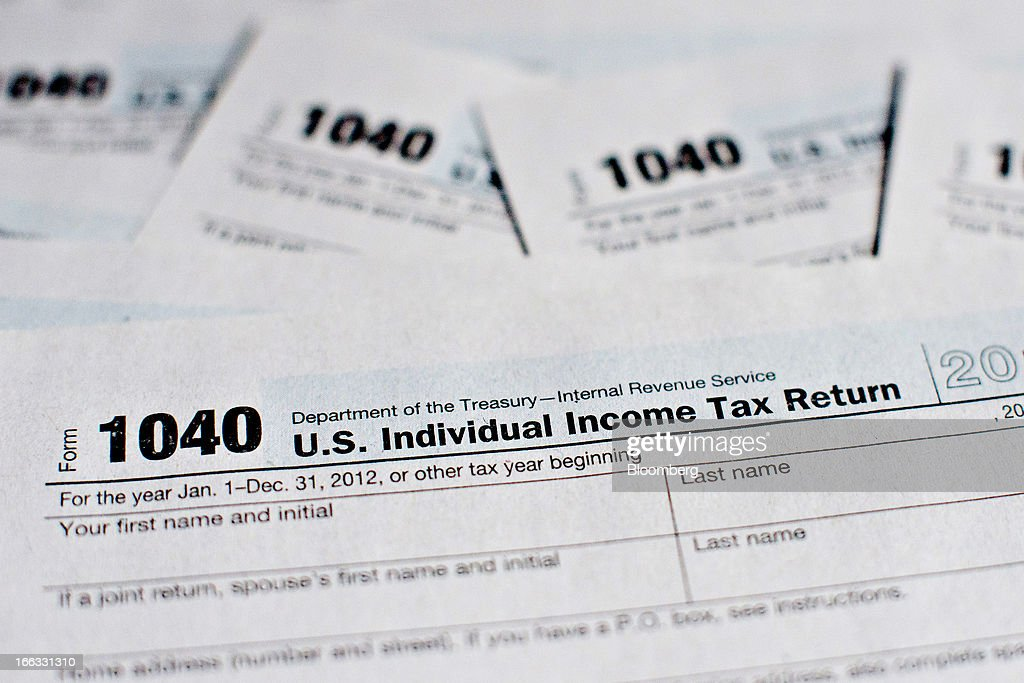 Us Department Of The Treasury Internal Revenue Service 1040