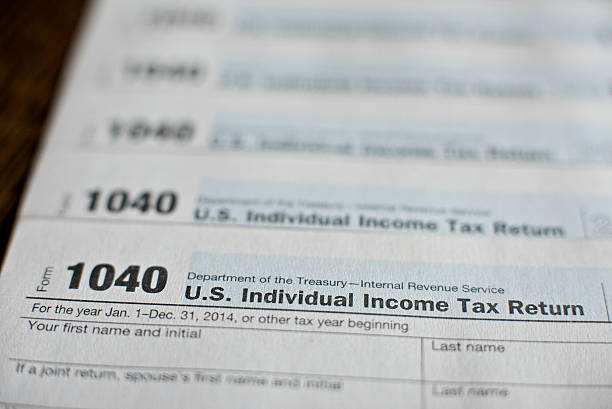 Tax Forms Ahead Of 2014 Income Tax Deadlines Photos And Images