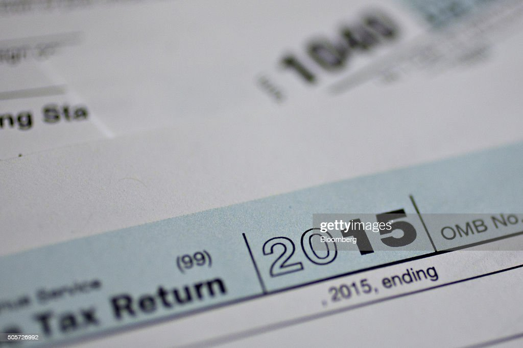 Images Of 1040 Forms As Irs Begins To Accept Tax Returns Photos And