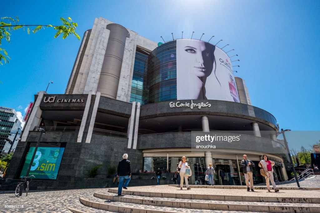 9f7bfe0f8 Department Store El Corte Ingles In Lisbon Portugal Stock Photo ...