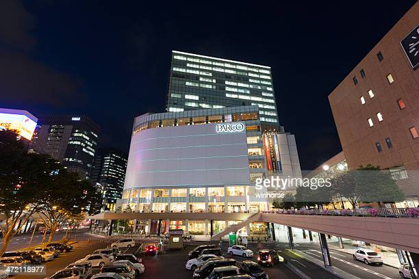 parco department store in japan - miyagi prefecture stock pictures, royalty-free photos & images