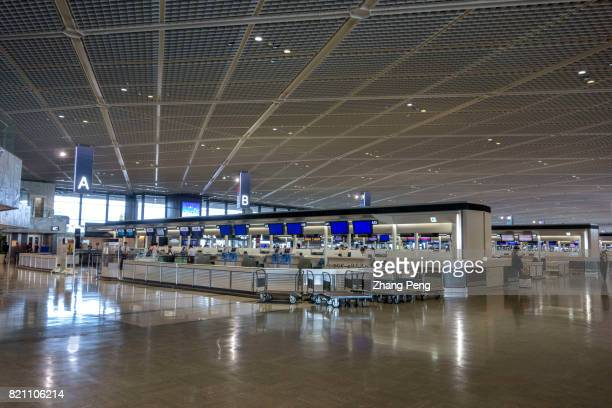 Departure area in Narita International Airport Narita International Airport established in 1978 located in the Kanto region of Japan it is the...