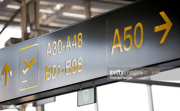 Departure at gate 50