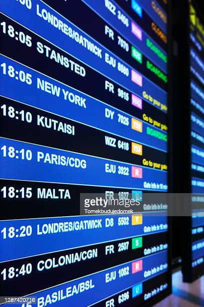 departure board - north rhine westphalia stock pictures, royalty-free photos & images
