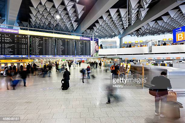 Departure Hall Airport Frankfurt Terminal 1