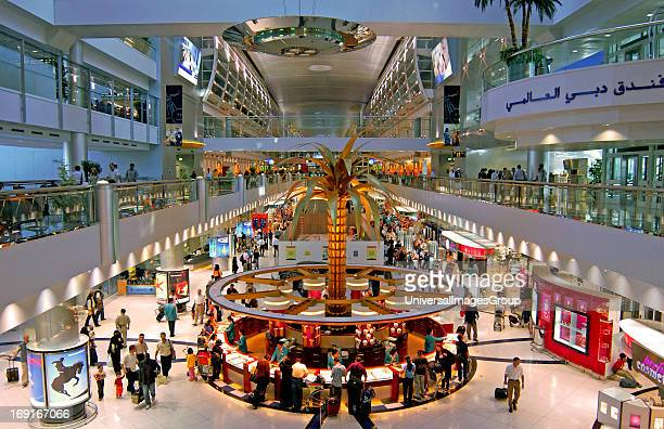 Departure hall Dubai international airport