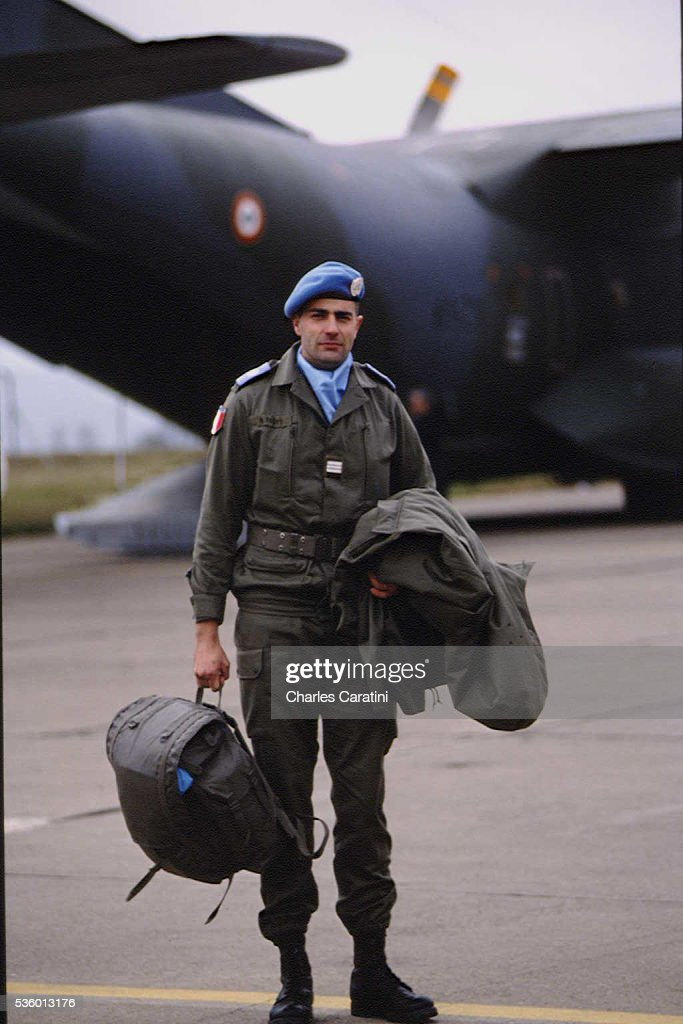 Departure of a Blue Beret Detachment News Photo - Getty Images