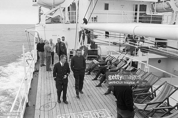 Departure Of The French Mission For The Kerguelen Islands